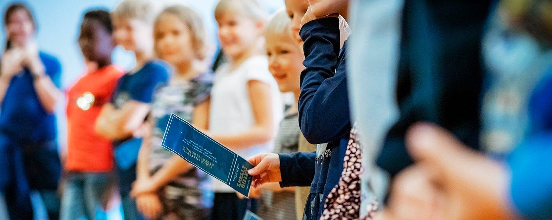 Børnene på Farum Lilleskole i furesø kommune